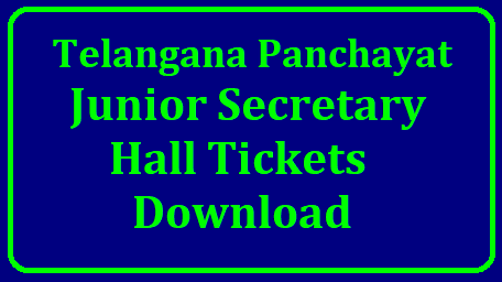 TS Panchayat Secretary Hall Ticket 2018. Telangana Panchayat Junior Secretary Hall Ticket 2018 tspri.cgg.gov.In/2018/10/ts-panchayat-junior-secretary-hall-ticket-2018-download-manabadi-www.tsprrecruitment.in-tspri.cgg.gov.in-.html