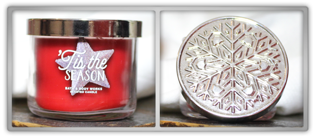 Bath & Body Works Christmas Haul Review scented candle mini 1 wick Tis the Season 2