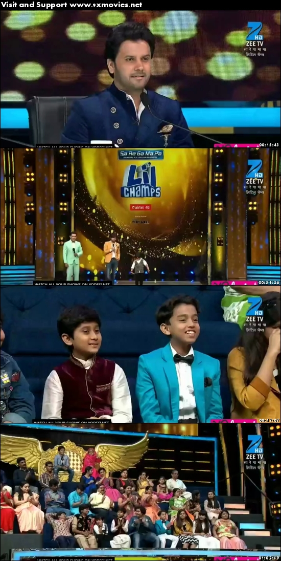 Sa Re Ga Ma Pa Lil Champs 08 April 2017 HDTV 480p