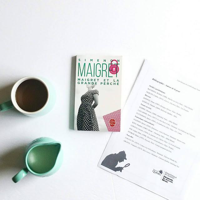 Maigret et la grande perche de Simenon