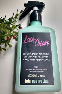 Manutenção da coooor @Lolacosmetic Shampoo Pré - Tratamento / Fixante (Spray)