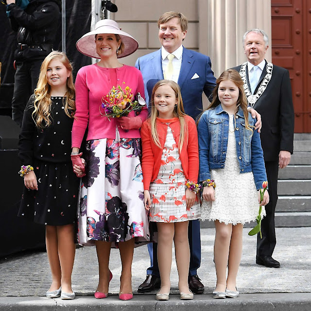 Dutch Royal Family Attend King S Day 2016 Celebration