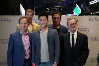 Alaric Ong With Robert Kiyosaki, Blair Singer, John Macgregor and JW Wilson