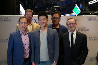 Alaric Moses Ong With Robert Kiyosaki, Blair Singer, John Macgregor and JW Wilson