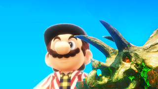 Another Mario Odyssey Tale 1 - A Giant In New Donk City