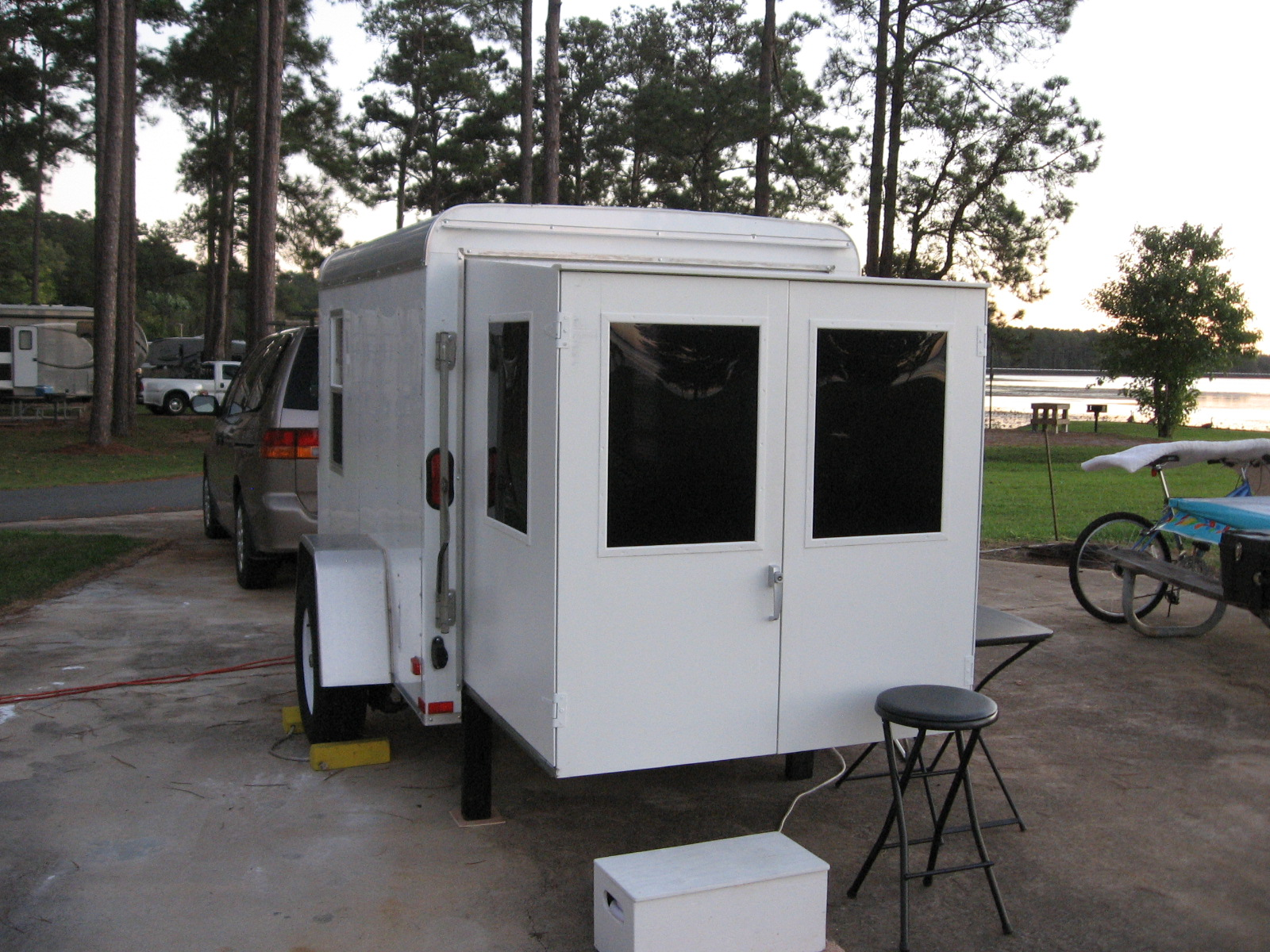 Life as I live it: Utility Trailer/Camper
