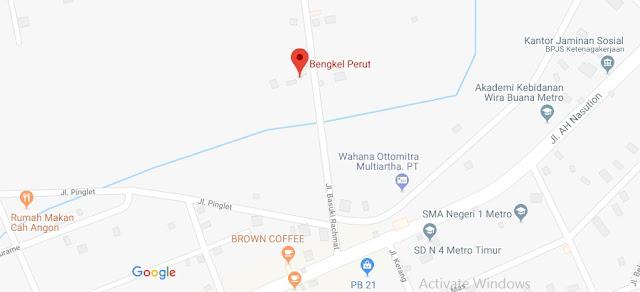 Bengkel Perut Kota Metro Lampung