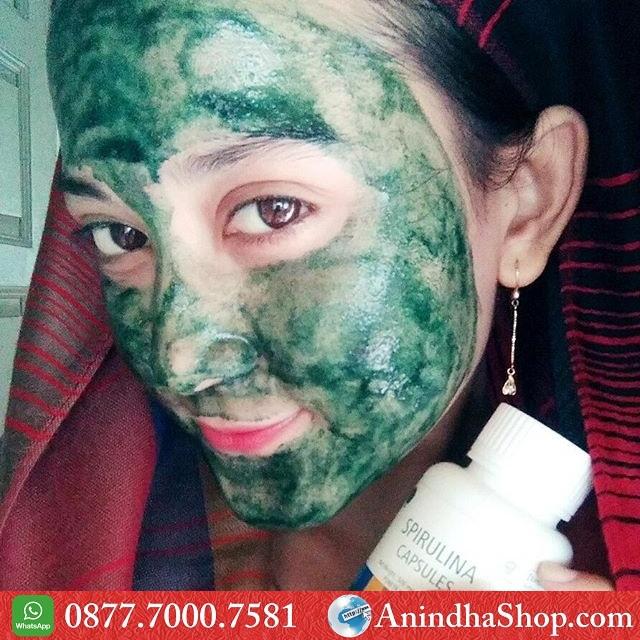 Masker Spirulina Cirebon