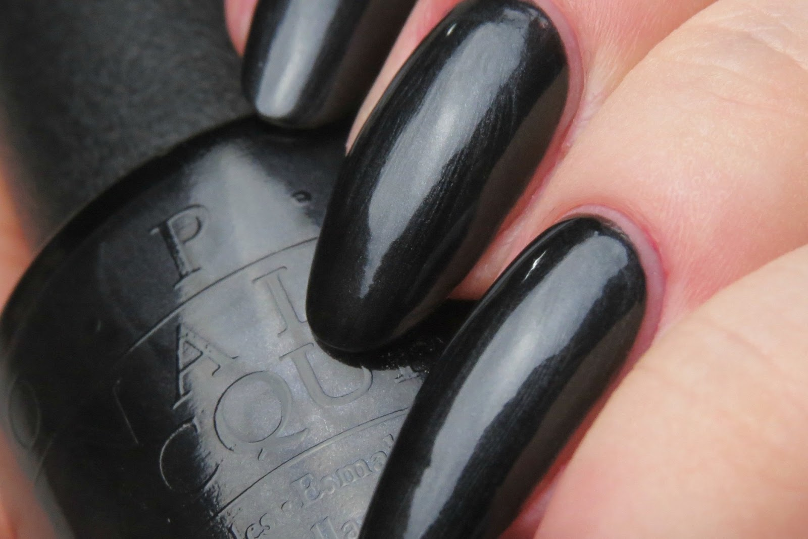 Black dress not optional opi paint
