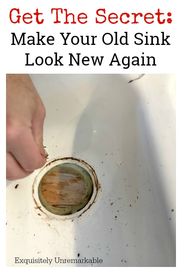 How To Clean An Old Sink