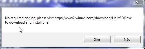 Baixar o complemento no site do WinAVI converter