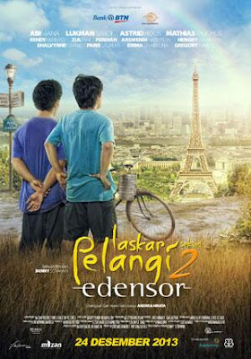 Download Laskar Pelangi 2 Edensor 2013 DVDRIP Indonesia