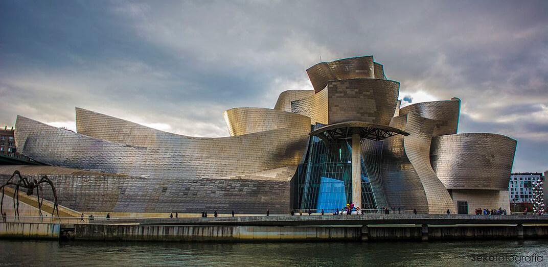 Fachada del Guggenheim