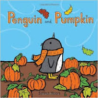 Penguin and Pumpkin by Salina Yoon book cover picture book