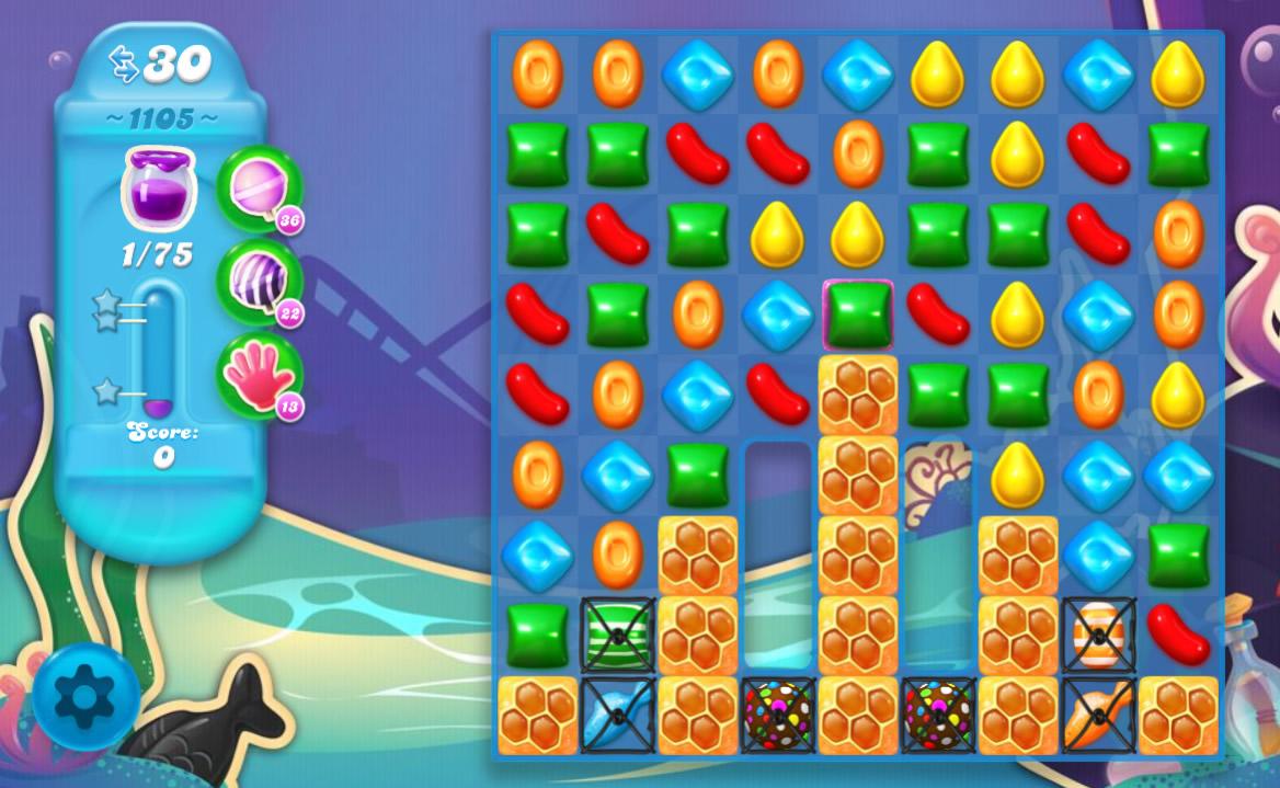Candy Crush Soda Saga level 1105