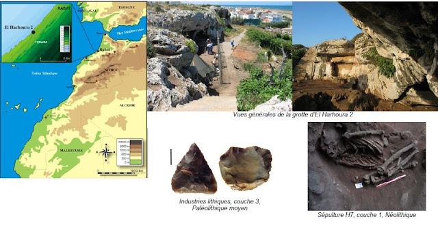 نتيجة بحث الصور عن الأدوات الحجرية المستخرجة من مقالع الدار البيضاء.