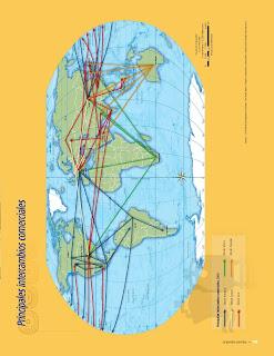 Apoyo Primaria Atlas de Geografía del Mundo 5to. Grado Capítulo 4 Lección 3 Principales Intercambios Comerciales