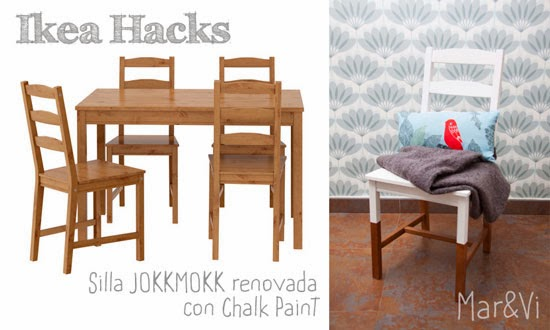 Ikea Hacks: renovar una silla con chalk paint