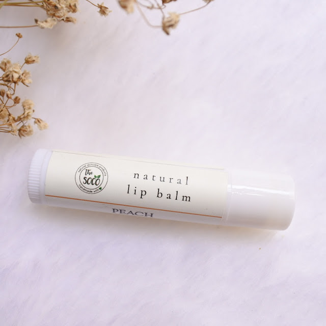 Review The Soco Natural Lip Balm
