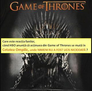 Game of thrones versus Cetatea Ompilic pe blogul Omul din palarie