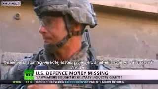 A Pentagon 8,5 billió dollárral nem tud elszámolni - Videóval!