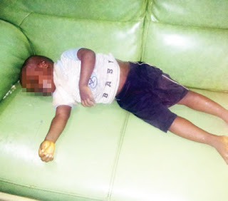 Boy drowns in water drum in Lagos; police arrest grandma, father (photo)