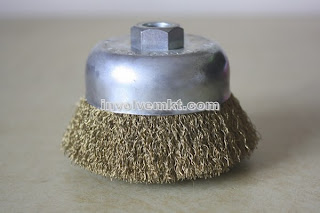 deburring wire cup brush