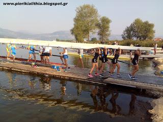 Με τον Ναυτικό Όμιλο Κατερίνης στην λίμνη της Καστοριάς. (ΦΩΤΟ)