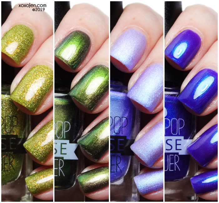 xoxoJen's swatch of Lollipop Posse Tarot