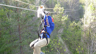 Girls' Night (Okay, Afternoon) Out: Zip Lining in Asheville, NC