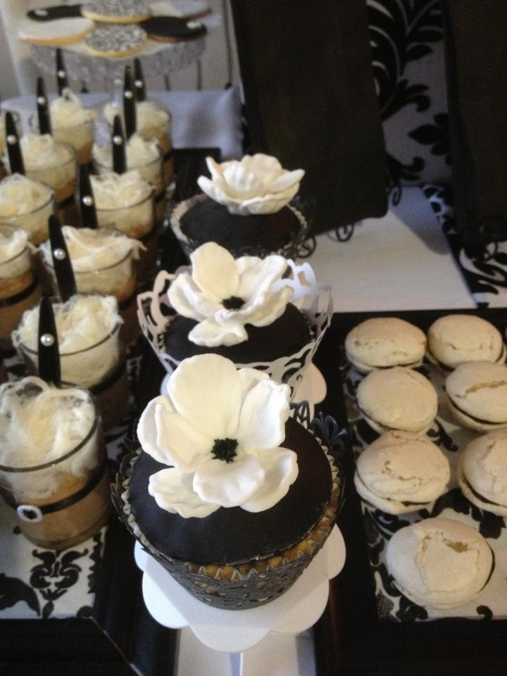 Party Idea of the Month: Dessert-Filled Engagement Party ... |Engagement Party Dessert Recipes