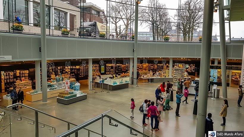 Loja do Museu Van Gogh em Amsterdam: como visitar o museu