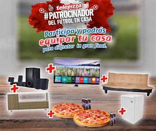 """[Sorteo] Gana un Smart TV 50"""", Home Theater, Frigobar y más - Patrocinador de fútbol en casa"""