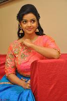 Nithya Shetty in Orange Choli at Kalamandir Foundation 7th anniversary Celebrations ~  Actress Galleries 115.JPG