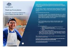 Sobat Pengusaha Pemula, Ayo Daftar Beasiswa Studi Singkat Tentang Bisnis Start-Up Selama 2 Pekan Di Australia
