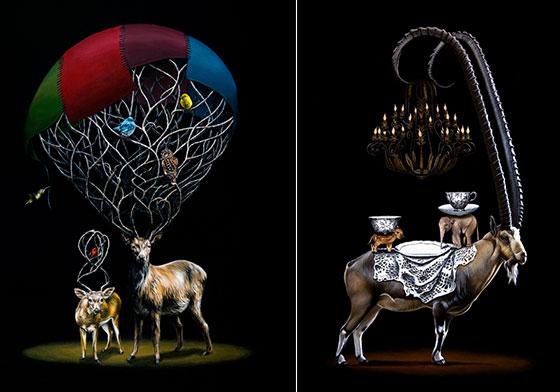 Bizarre Animal Paintings-5
