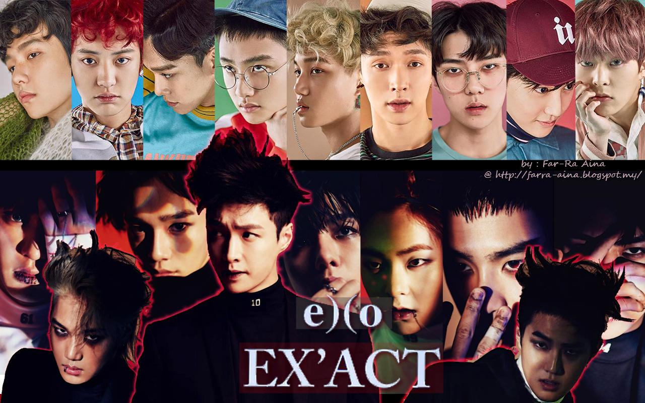 K Pop Lover Exo Ex Act Wallpaper