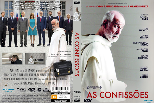 Capa DVD As Confissões