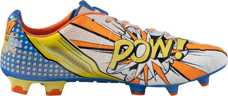 988eb71f1 The new Puma evoPOWER 1.2 POP Cleat is inspired by iconic Pop Art designs.