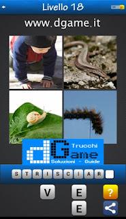 PACCHETTO 4 Soluzioni Trova la Parola - Foto Quiz soluzione livello 18
