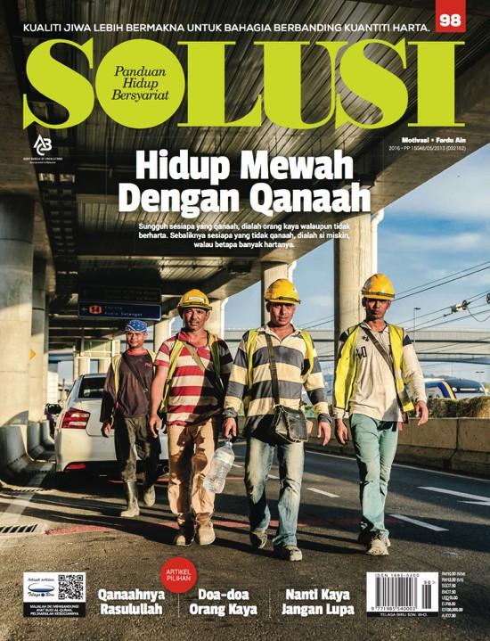 Solusi 98: Hidup Mewah dengan Qanaah