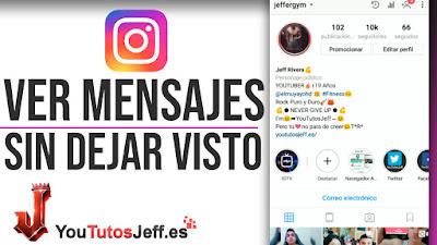 Ver Mensajes de Instagram Sin Dejar Visto - Trucos Instagram