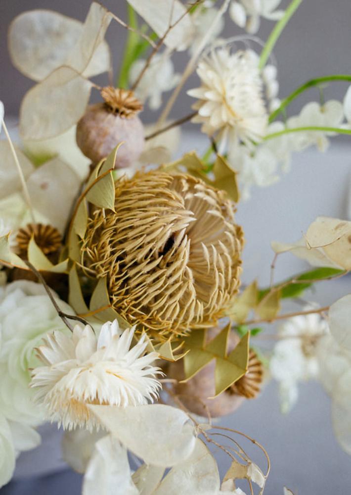 Por qué las flores secas no son de abuela