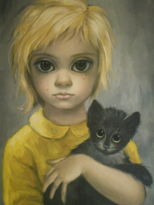 Pintura de Margaret Keane