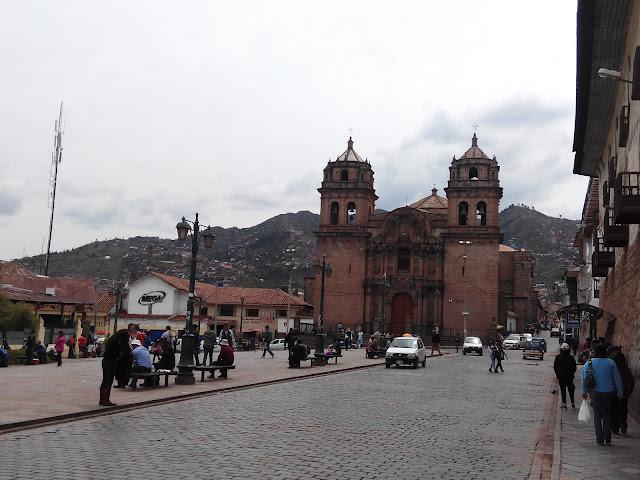 Iglesia de san Pedro Cuzco
