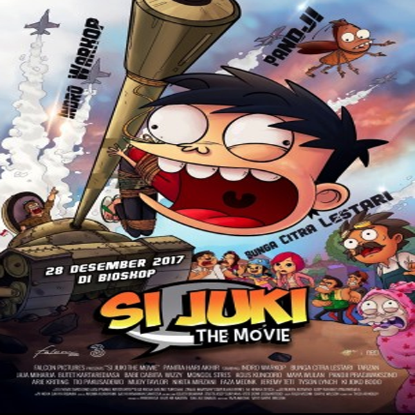 Si Juki The Movie, Si Juki The Movie Synopsis, Si Juki The Movie Trailer, Si Juki The Movie Review, Poster Si Juki The Movie