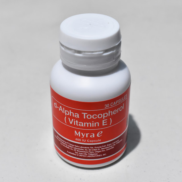 Myra E D-Alpha Tocopherol (Vitamin E) 400IU Capsules ...