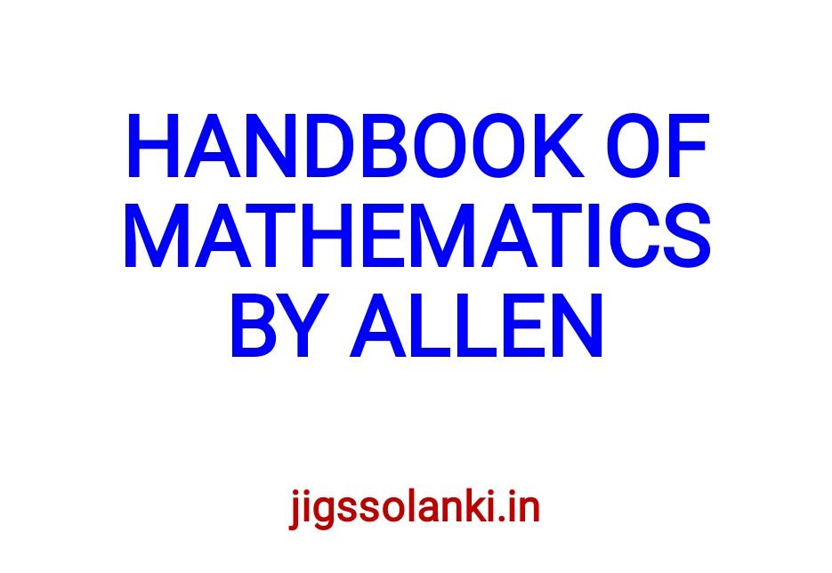 Allen Institute Study Material Pdf