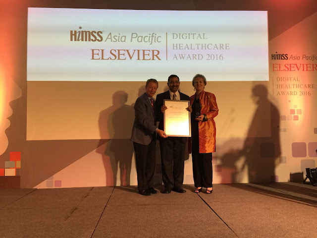 Apollo Hospitals bags HIMSS - Elsevier Outstanding ICT Innovation Award 2016 for excellence in healthcare delivery