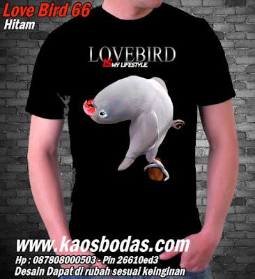 Kaos Lovebird 66